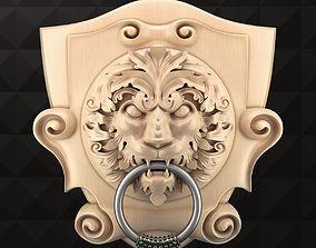 LionFace 3D printable model