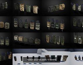 3D Tactical pouches pack