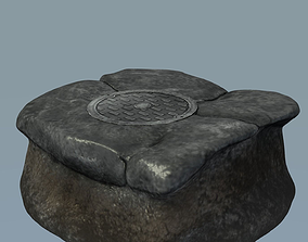 City Manhole Cover 3D model