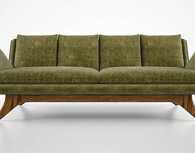 Vladimir Kagan Venetian sofa 3D model