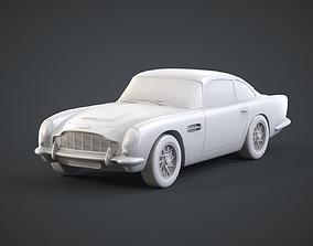 Aston Martin DB5 james 3D print model