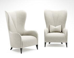 3D Christopher guy Victoire armchair