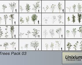 3D Trees - Pack 3