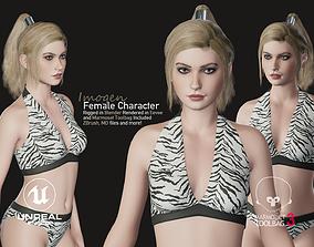 3D model Imogen - Female Character Base Mesh Version 1