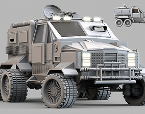 Military Infantry Transport Vehicle 3D model