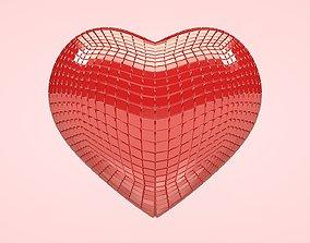 Heart - Disco Heart 3D asset
