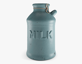 Old Milk Jug 3D