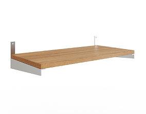 KUNGSFORS Shelf ash veneer ash 3D model