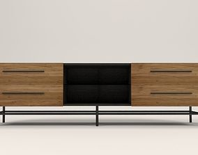 3D asset Arimo TV cabinet with drawers
