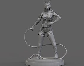 Catwoman Scupture 3D printable model