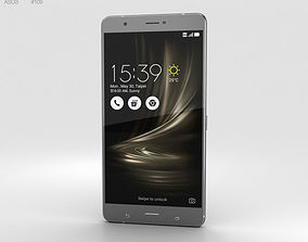 3D Asus Zenfone 3 Ultra Titanium Gray