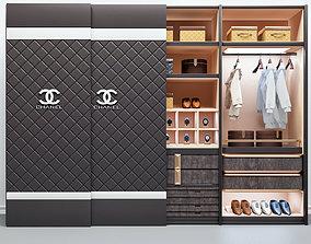 Coco Chanel Cupboard 3D model coco