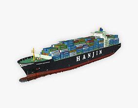 Cargo Ship Hanjin 3D model
