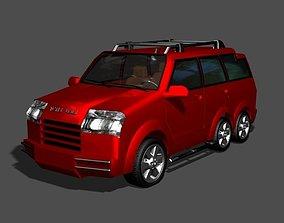TC New Model Car 3D asset