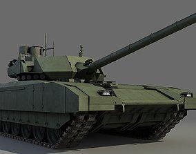 3D model T-14 ARMATA armored