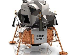 Eagle Lunar Lander Studio Max 3D