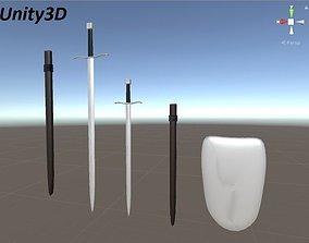 3D asset Sword Pack
