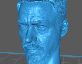 3D print model Tony stark head