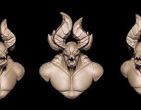 Darksiders Demon Bust for 3d Printing