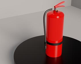 garage Fire Extinguisher 3D model PBR