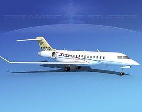 3D model Global Express 8000 V01