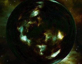 3D model Nebula Space Environment HDRI Map 020