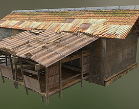 Asian Traditional Village 3D asset