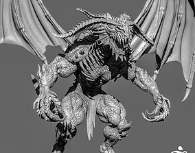3D Demon Creature Zbrush