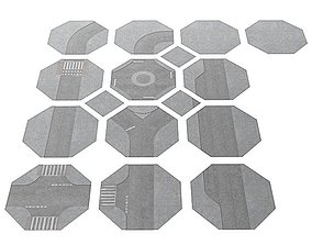 Hexagonal Dynamic Puzzle 3D model