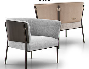 cafe V243 Easy Chair by Aston Martin 3D