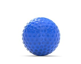 3D model golfball Golf ball