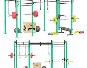 CrossFit Equipment 3D model