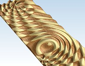 3D model Relief panel for Artcam Voratinkliai bas