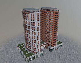 Prague Building9 3D asset
