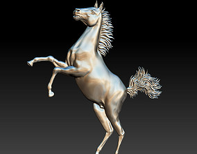 jumping horse 3D printable model