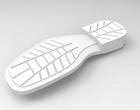 3D Shoe Sole- Formal shoe
