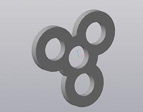 3D printable model spinner