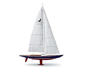 yacht Eagle 44 3D model