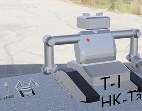 3D model Terminator evolution Low Poly Asset Pack
