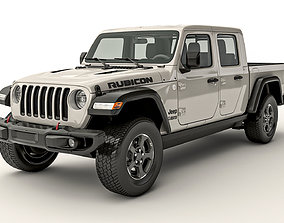 3D model Jeep Gladiator Rubicon 2020 4wd