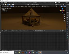 Alcove 3D model 3d