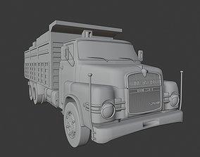 3D model Man 520 Oldschool Truck