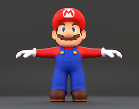 Super Mario 3D asset game-ready