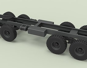 3D model Chassis 8x8 for truck