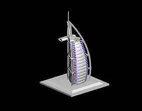 Burj Al Arab 3D printable model