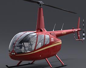 Robinson R66 3D model