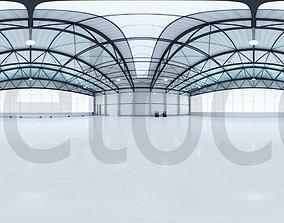 HDRI - Airplane Hangar Interior 7 3D model