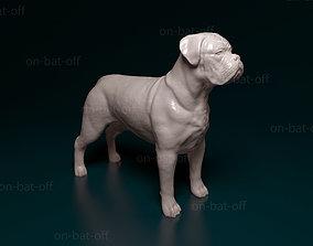 bardeaux 3D print model Dogue de Bordeaux