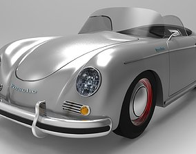 sport-car 3D model The Porsche 356 Speedster sports car