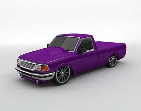 3D model 1995 Ford Ranger Pickup Street Version